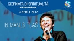 In manus Tuas, Chiara Amirante sorride, Giornata di Spiritualità