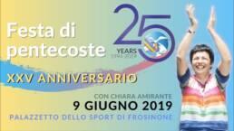 Ricevete lo SPIRITO SANTO, Chiara Amirante sorride e applaude al cielo, Pentecoste 2019
