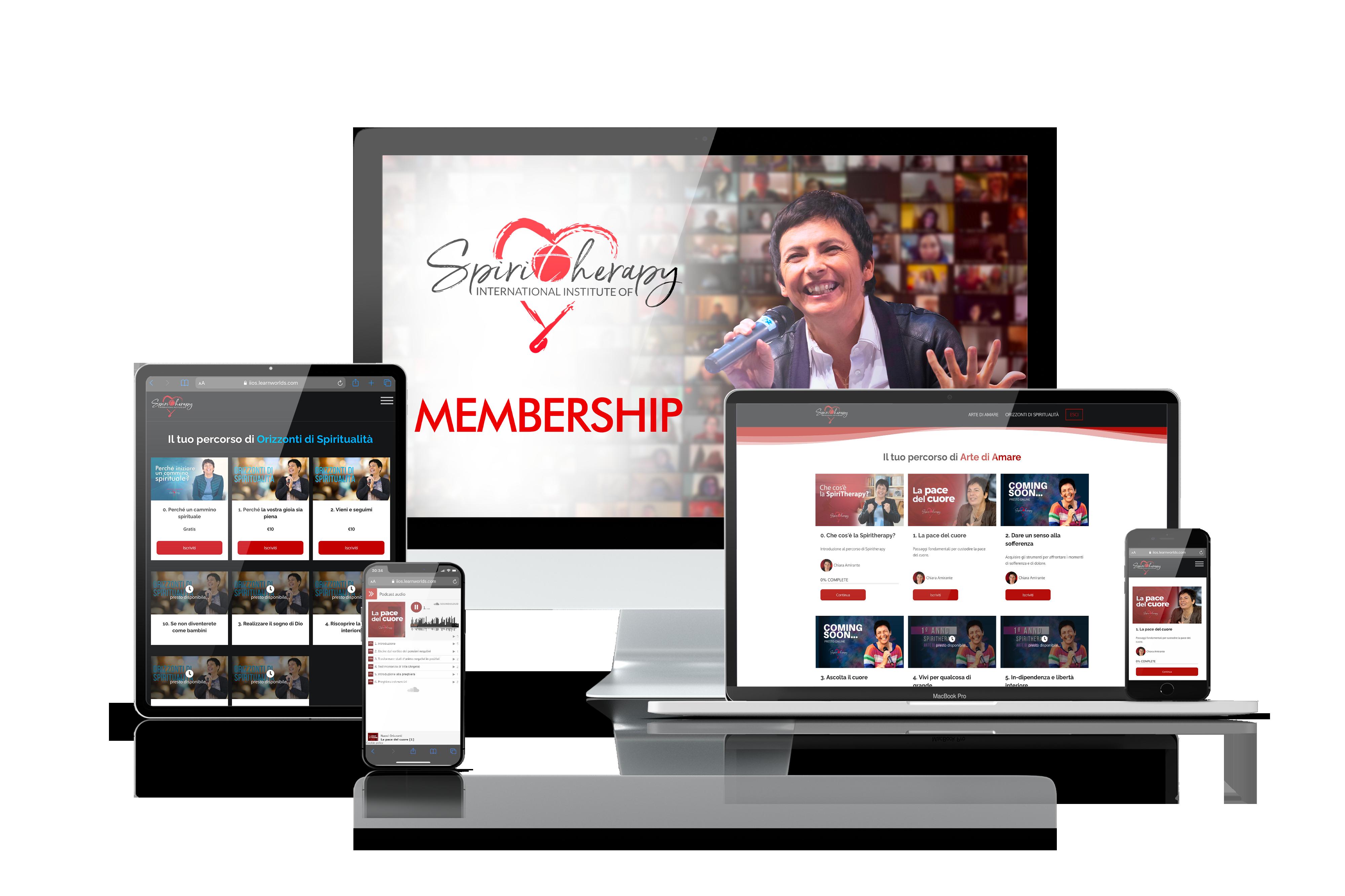 Spiritherapy Membership - Chiara Amirante
