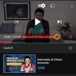 Youtube capitoli - Chiara Amirante